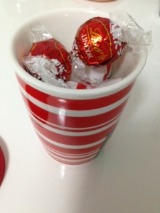 Lindt Chocolate Cup