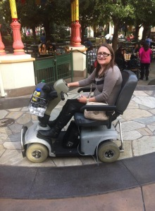 scooter hire at disneyland